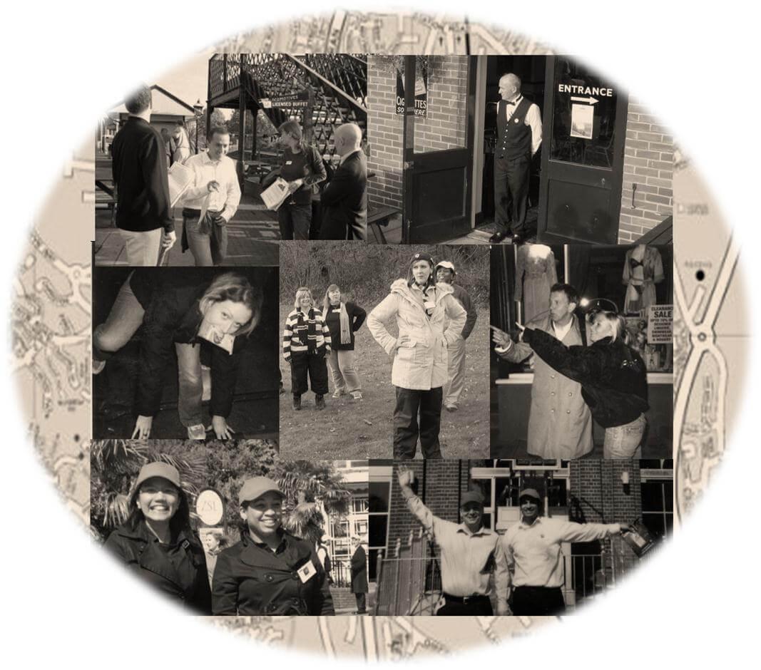 Treasure hunt collage